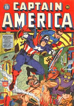 LE COIN DU PATRIMOINE US : Captain America (2ème partie)