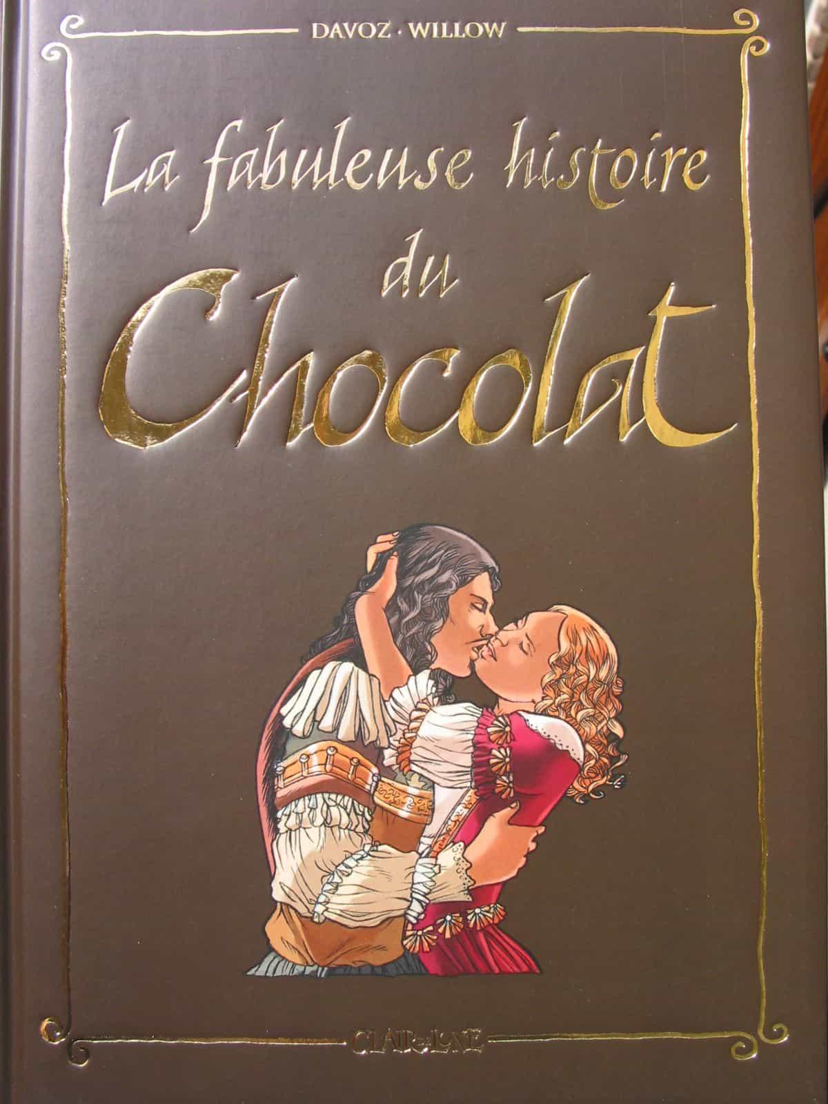 Berühmt La fabuleuse histoire du chocolat en bd | BDZoom.com BO46