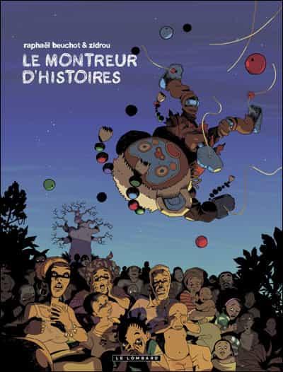 """""""Le Montreur d'histoires"""" par Beuchot et Zidrou"""