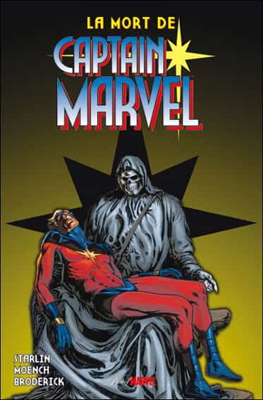 """La Mort de Captain Marvel"" par Jim Starlin"
