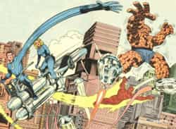 "LE COIN DU PATRIMOINE US : ""The Fantastic Four"" de Jack Kirby et Stan Lee (1)"