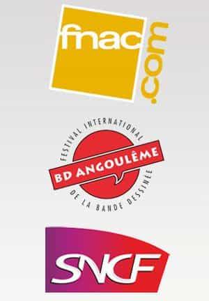 La fnac et la SNCF nouveaux partenaires du Festival d'Angoulême