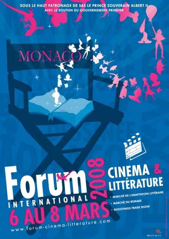 Forum de Monaco 2008 : Cinéma, Littérature, Bande Dessinée … et Jeux vidéos