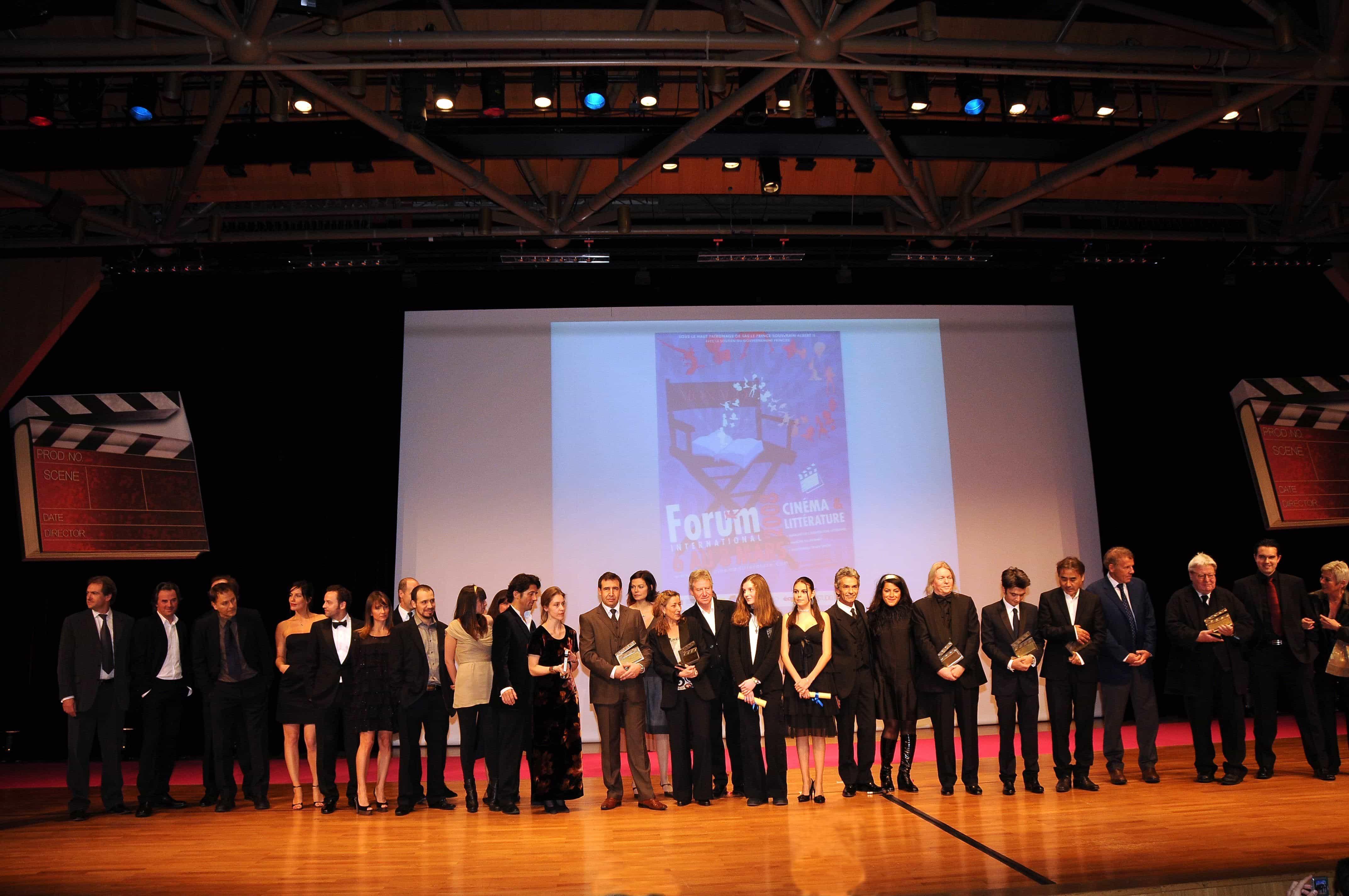 R.G. et PERSEPOLIS récompensés au Forum  International Cinéma & Littérature