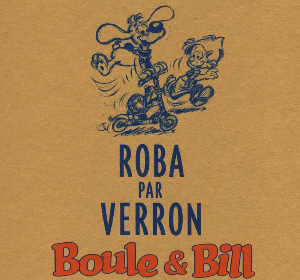 Roba et Verron : à propos de Boule & Bill