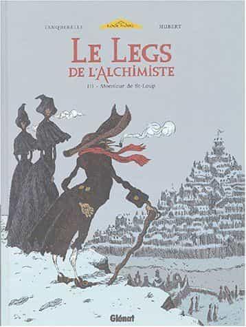 Hubert et Tanquerelle, auteurs du Legs de l'alchimiste