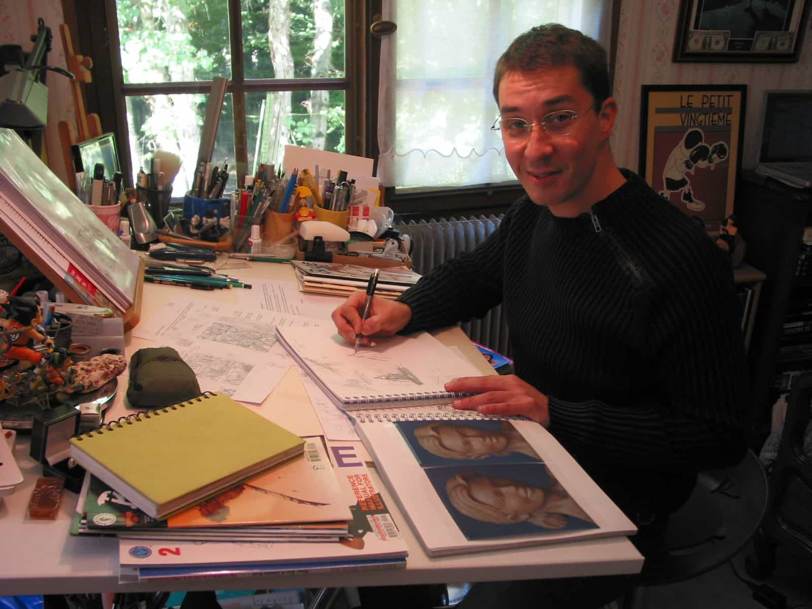 Nicolas Malfin, le succès au bout du crayon